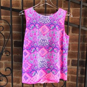 """Lilly Pulitzer Multi """"Behind the Gates"""" Shell"""